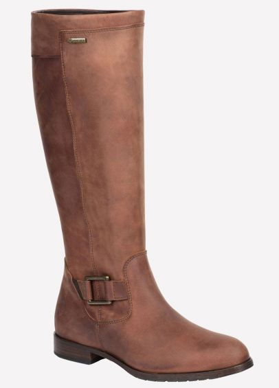 Dubarry Womens Limerick Boots - Chestnut