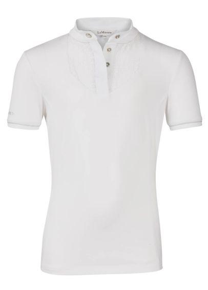 LeMieux Young Rider Belle Show Shirt - White