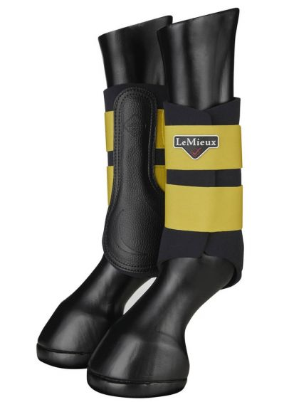 LeMieux Grafter Brushing Boots - Dijon