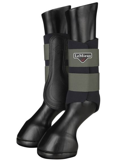 LeMieux Grafter Brushing Boots - Oak