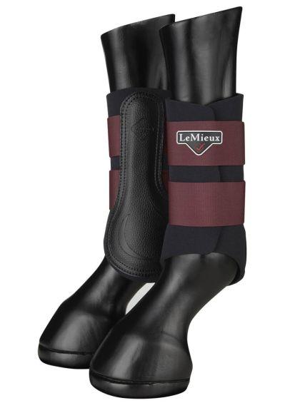 LeMieux Grafter Brushing Boots - Rioja