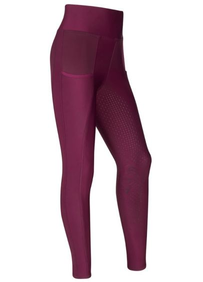 LeMieux Young Rider Pull On Breech - Grape