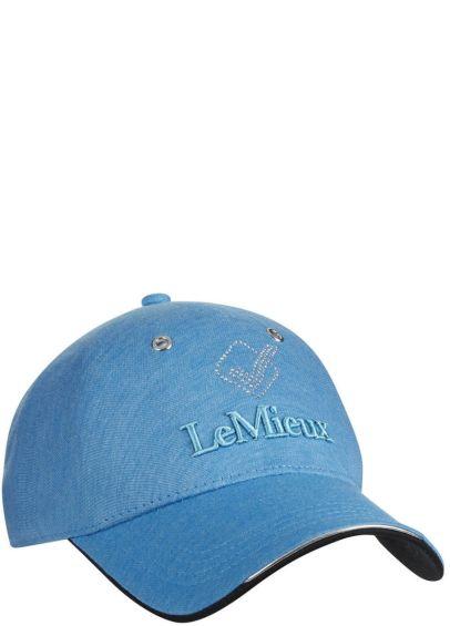 LeMieux Luxe Baseball Cap - Azure