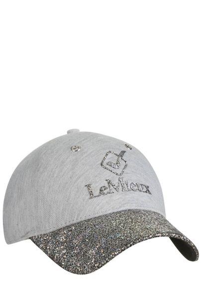 LeMieux Luxe Baseball Cap - Grey Fleck
