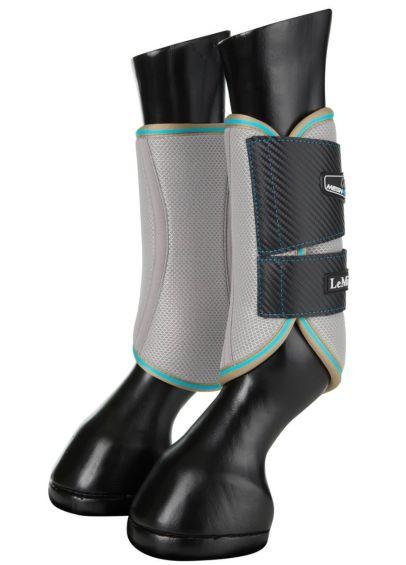 LeMieux Carbon Mesh Wrap Boots - Azure