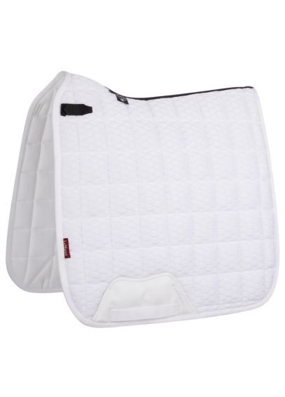 LeMieux Carbon Mesh Dressage Square - White