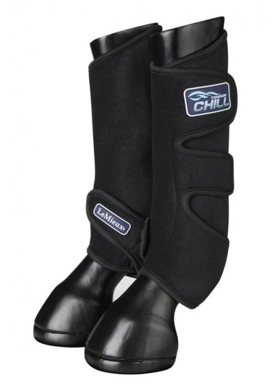 LeMieux Tendon Chill Boots (Pair) - Black