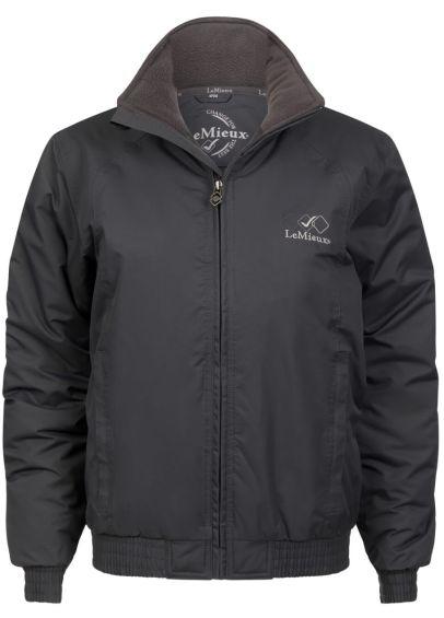 Team LeMieux Waterproof Crew Jacket - Grey