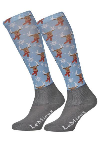 LeMieux Footsie Socks - Reindeer Scarf - PRE ORDER