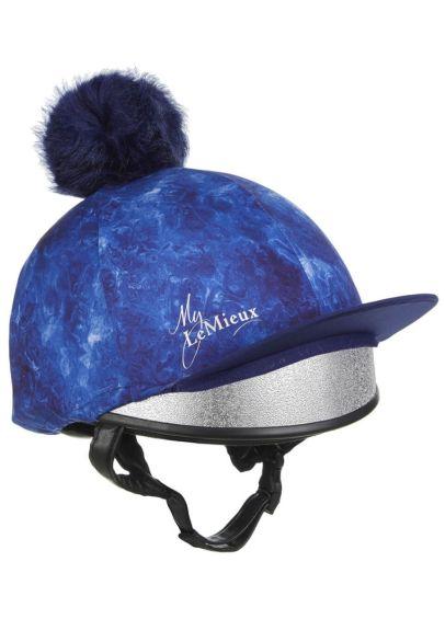 LeMieux Glacé Hat Silk - Navy