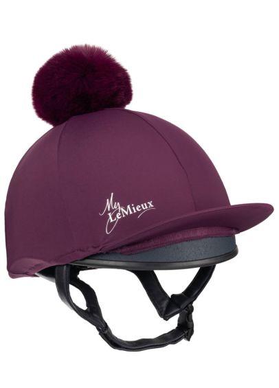 LeMieux Young Rider Hat Silk - Grape