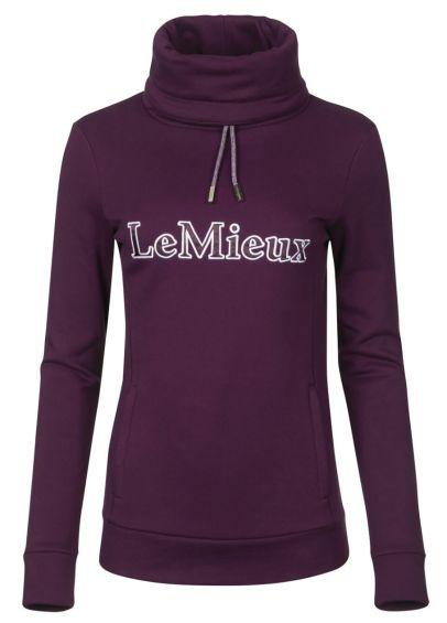 LeMieux Highland Funnel Neck Hoodie - Grape