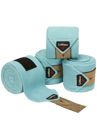 LeMieux Luxury Polo Bandages - Azure