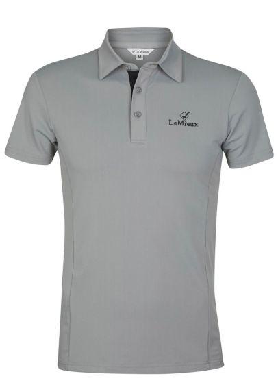 LeMieux Monsieur Mens Polo Shirt - Grey