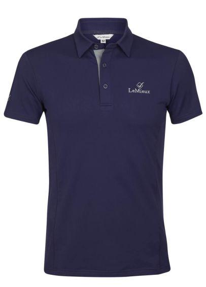 LeMieux Monsieur Mens Polo Shirt - Navy