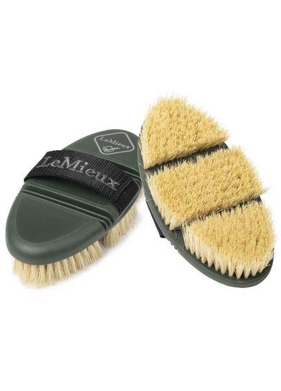 LeMieux Flexi Scrubbing Brush - Oak - PRE ORDER