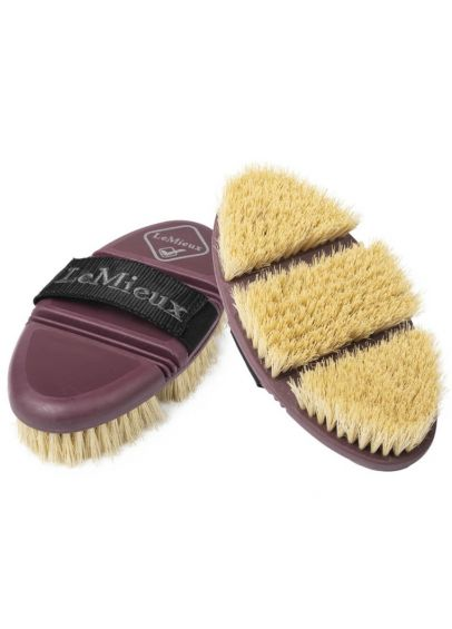 LeMieux Flexi Scrubbing Brush - Rioja - PRE ORDER