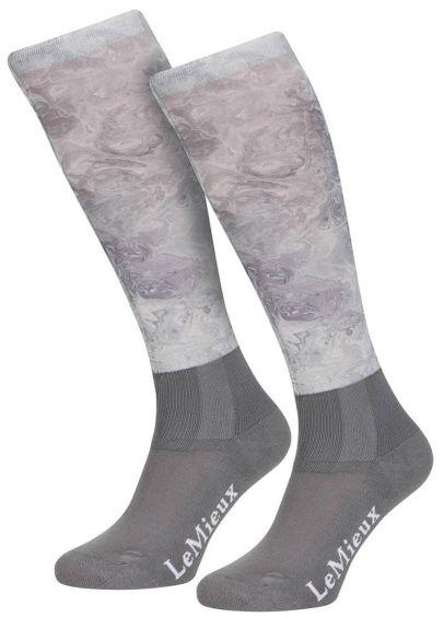 LeMieux Glacé Socks - Grey
