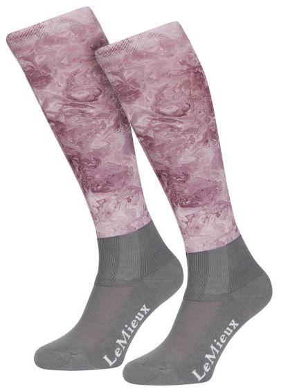 LeMieux Glacé Socks - Musk