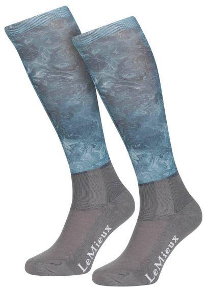 LeMieux Glacé Socks - Sage