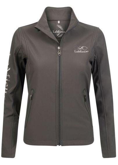 Team LeMieux Soft Shell Jacket - Grey
