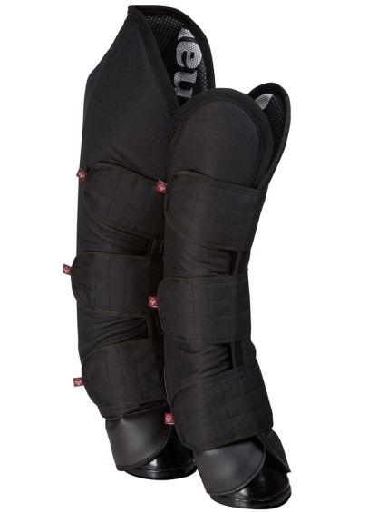 LeMieux Carbon Travel Boots - Black