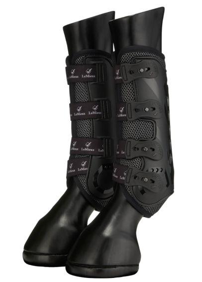 LeMieux Ultra Mesh Snug Boot (Pair) - Black