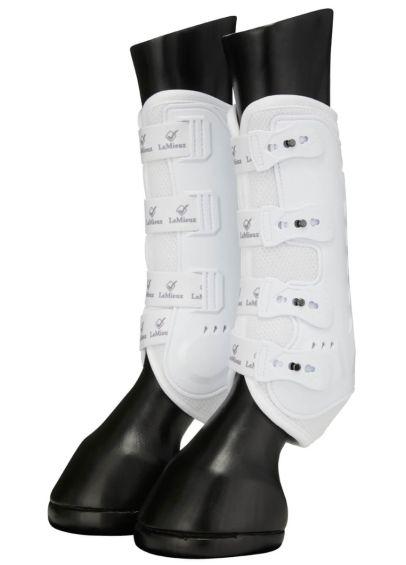 LeMieux Ultra Mesh Snug Boot (Pair) - White