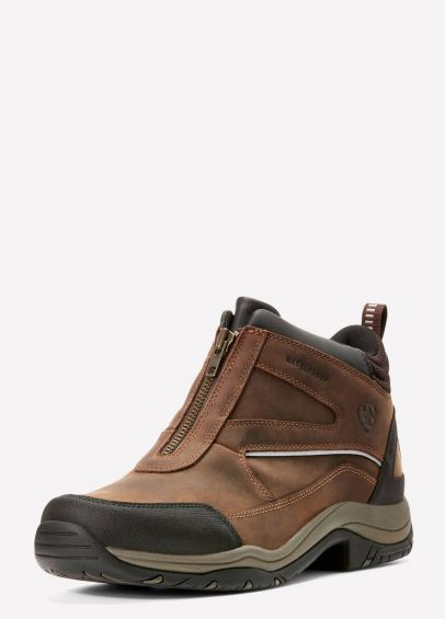 Ariat Mens Telluride Zip H2O Boots - Copper