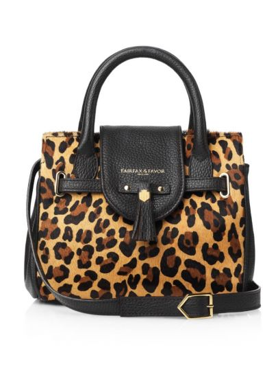 Fairfax & Favor Mini Windsor Handbag - Jaguar Haircalf