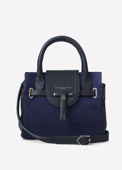 Fairfax & Favor Mini Windsor Handbag - Navy