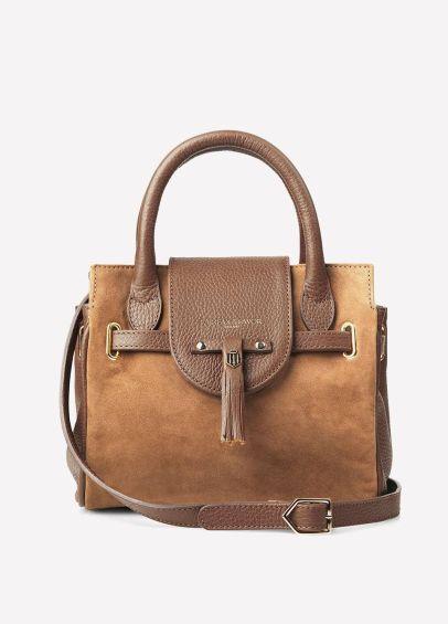 Fairfax & Favor Mini Windsor Handbag - Tan