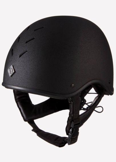 Charles Owen MS1 Pro Jockey Skull - Black
