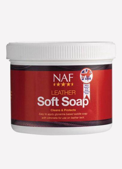 NAF Leather Soft Soap (450g)