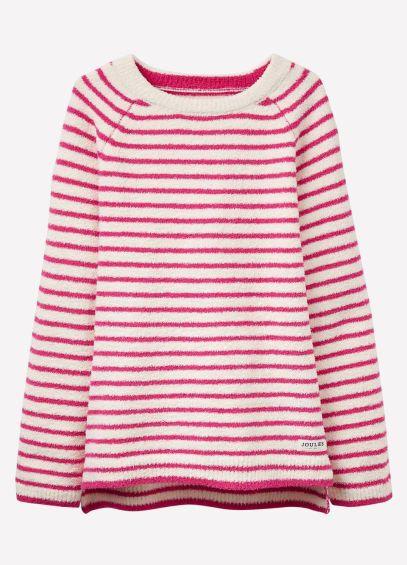 Joules Junior ODR Seaham - Fucshia Pink Stripe