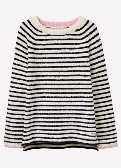 Joules Junior ODR Seaham - French Navy Stripe