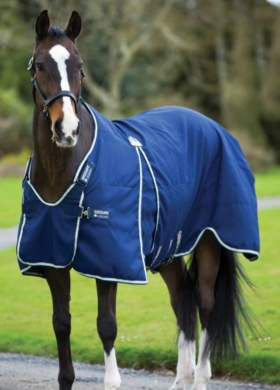 Rambo Optimo Stable Sheet - Navy