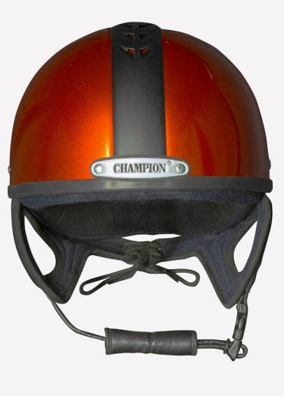 Champion Ventair Sport Jockey Skull - Solar Orange