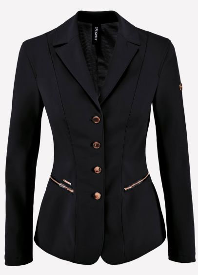 Pikeur Ladies Paulin Competition Jacket - Black/Rose Gold