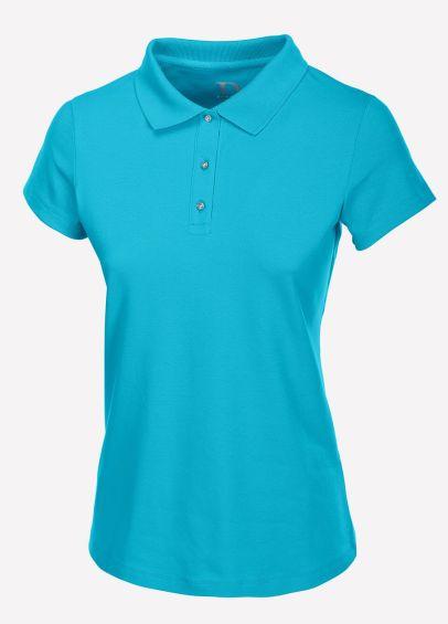 Pikeur Ladies Gara Polo Shirt - Caribbean