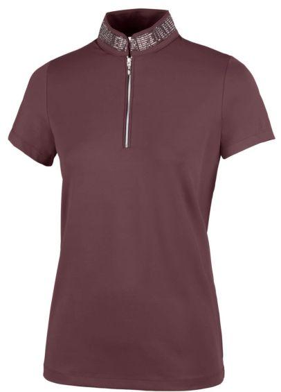 Pikeur Birdy Polo Shirt - Light Aubergine