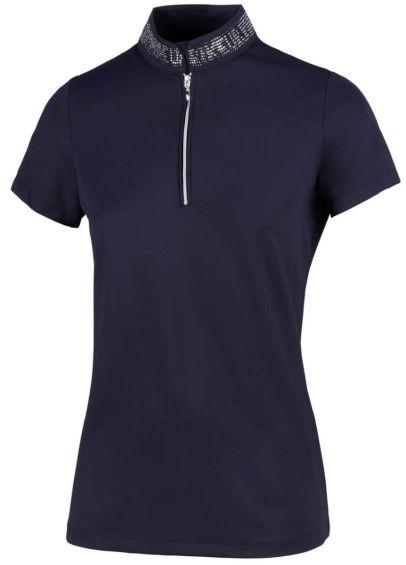 Pikeur Birdy Polo Shirt - Nightshadow