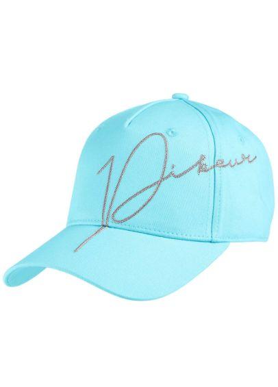 Pikeur Cotton Baseball Cap - Aquamarine