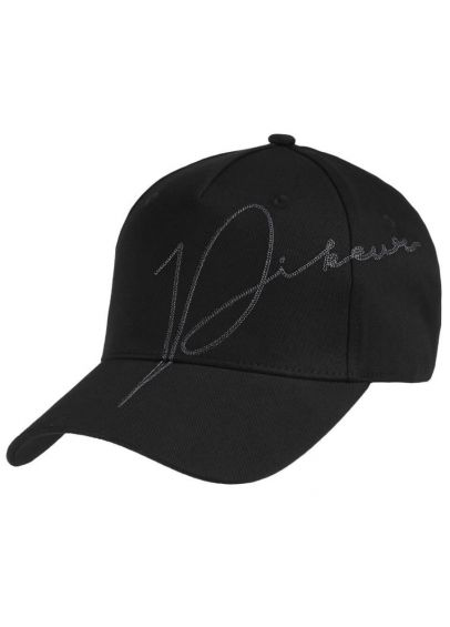 Pikeur Cotton Baseball Cap - Black