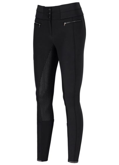 Pikeur Charlotte Full Patch Breeches - Black