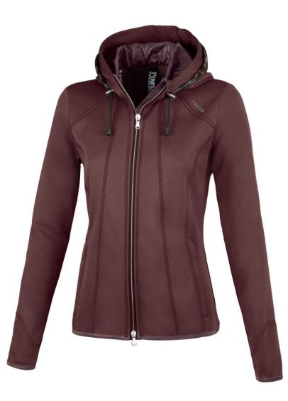 Pikeur Janny Fleece Jacket - Light Aubergine