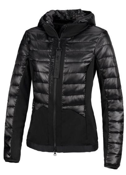 Pikeur Leyla Hybrid Quilted Jacket- Black