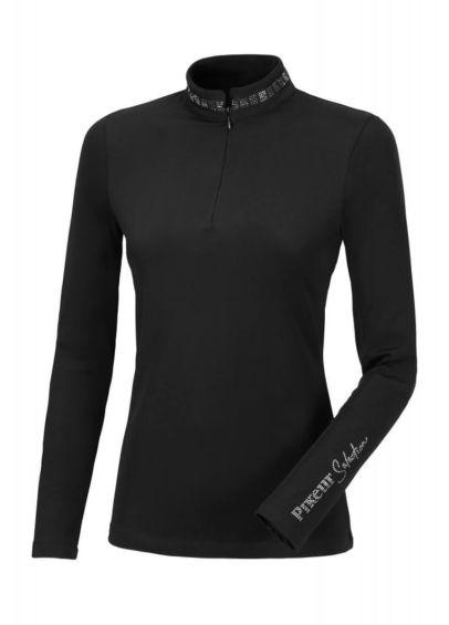 Pikeur Norea Zip Shirt - Black