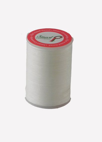 Smart Grooming Flat Wax Plaiting Thread - White