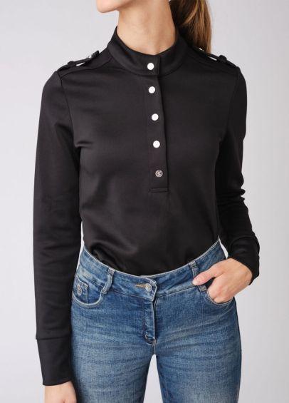 PS of Sweden Carmen Turtleneck Sweater - Black